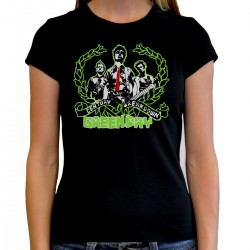 Women Green day T shirt