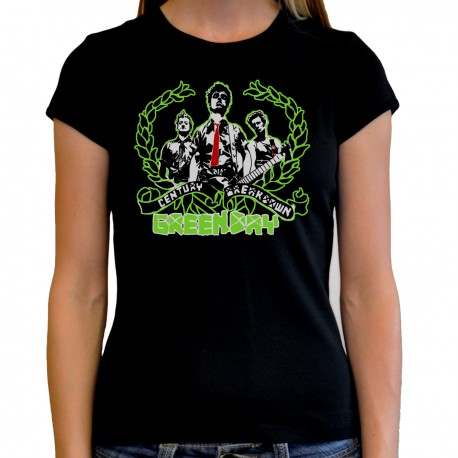 Camiseta mujer Green day