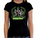 Women Green day T shirt