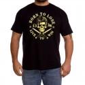 Camiseta hombre Born to lose