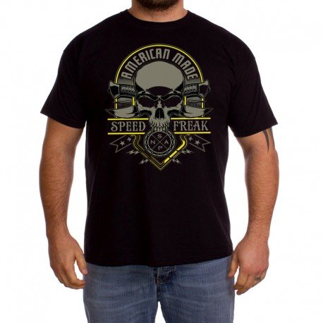 Men American made speed freak T shirt