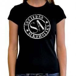 Women Soziedad Alkoholika T shirt