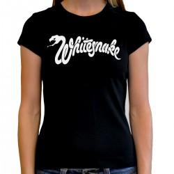 Women Whitesnake T shirt