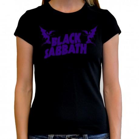 Camiseta mujer Black Sabbath