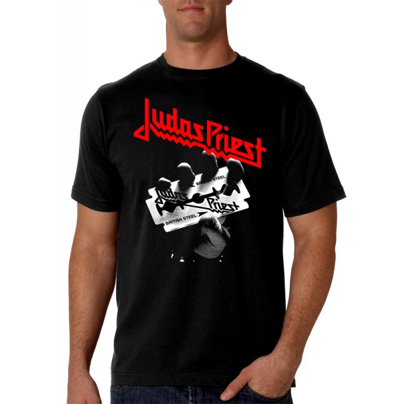 Made4rock Priest Judas Camiseta Rock Camisetas Hombre R3Aq5L4j