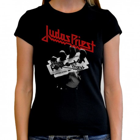 Women Judas Priest T shirt