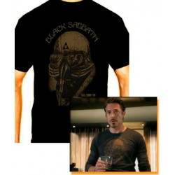 Men Black Sabbath Iron man T shirt