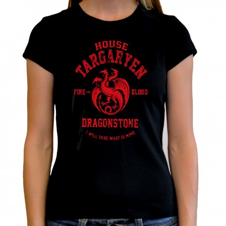 Women Game of thrones Targaryen T shirt