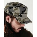 Military cap camouflaje print different colors