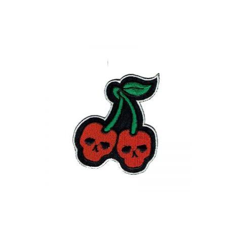 Cherry skulls patch