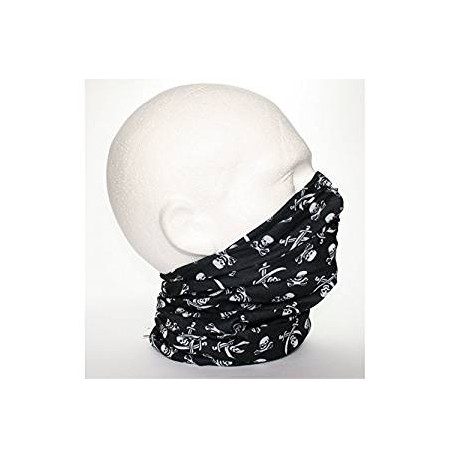 Buff bandanna with skulls print