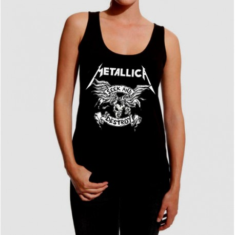 Camiseta tirantes Metallica Seek and destroy