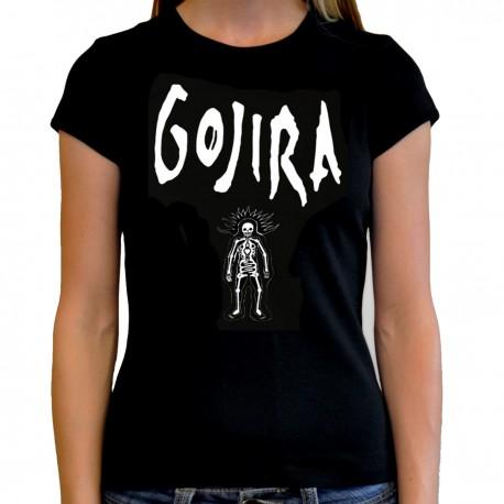 Camiseta mujer Gojira