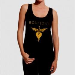 Camiseta tirantes Bon Jovi