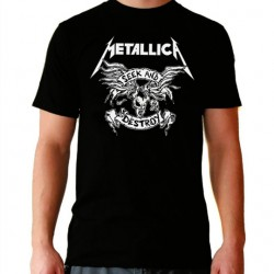 Men Metallica Seek and destroy T shirt