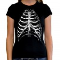 T shirt woman Ribs