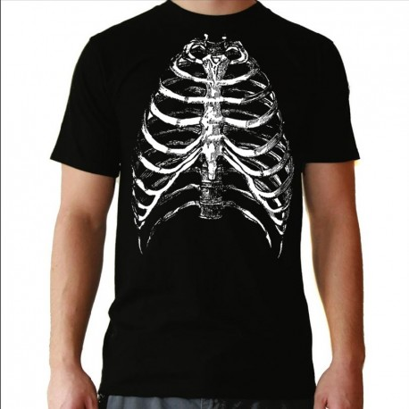 Men Ribs T shirt