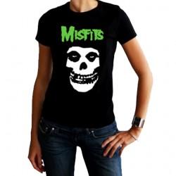 Camiseta mujer Misfits clásica