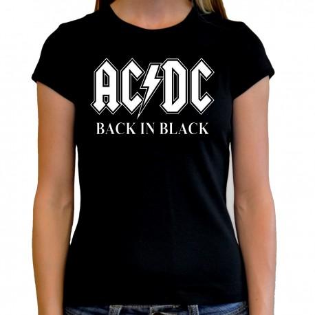 Women AC/DC T shirt