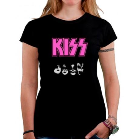Camiseta mujer Kiss