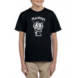 Camiseta niño Mickey Motorhead