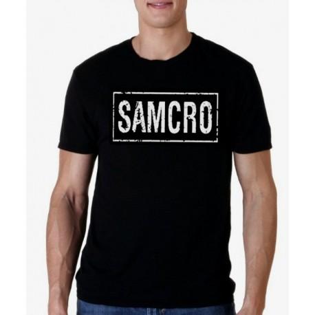 Men Sons of anarchy Samcro T-shirt