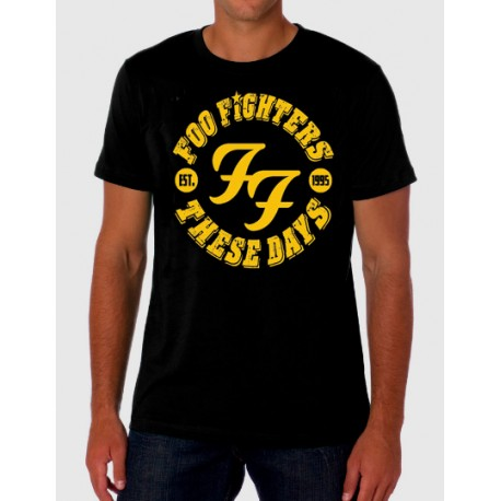 Camiseta hombre Foo Fighters