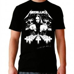 Camiseta hombre Metallica Cliff´em all