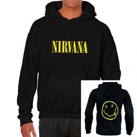 Sudadera hombre Nirvana