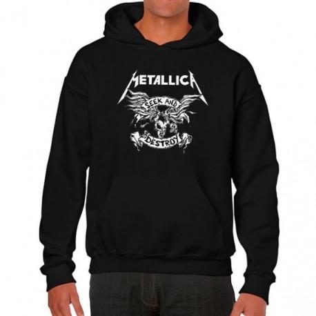 Men Metallica Seek and destroy hoodie sweatshirt