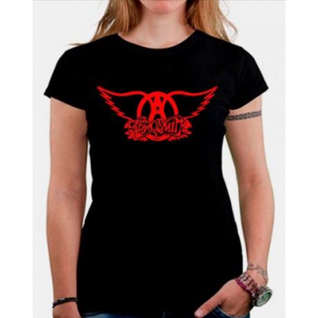 Camiseta mujer Aerosmith