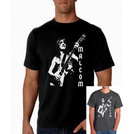 Men MALCOM AC/DC T shirt