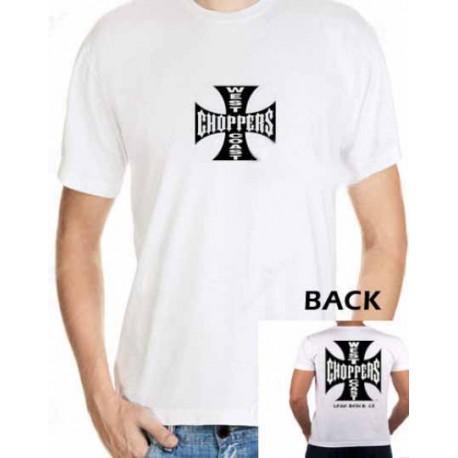 Men West Coast Choppers T-shirt