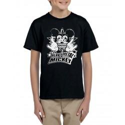 Camiseta niño Metal Mickey