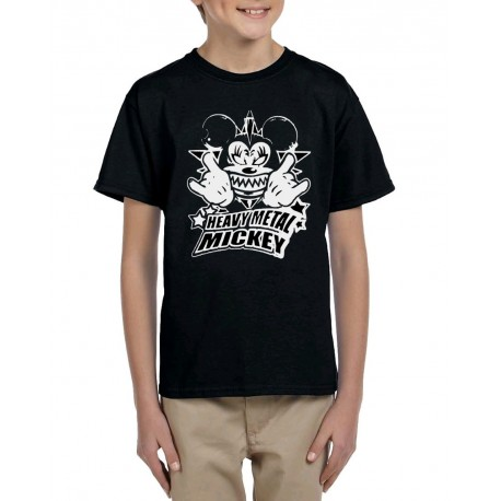 Camiseta niño Metal Mickey
