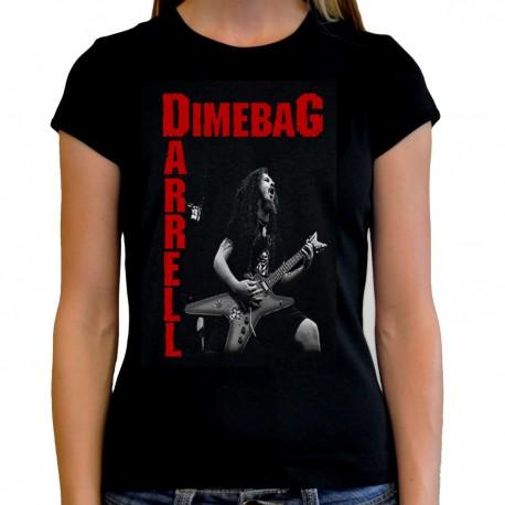 Women Dimebag Darrell T shirt