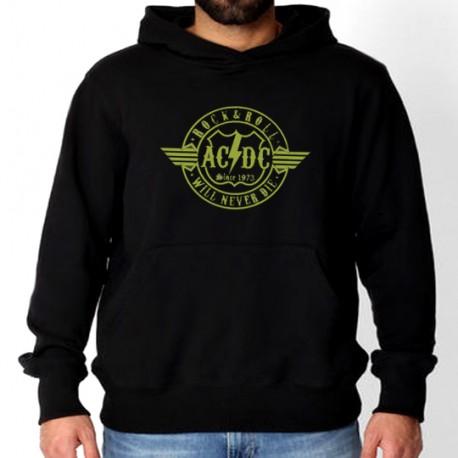 Men AC/DC 1973 hoodie sweatshirt