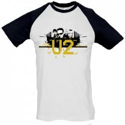 Camiseta béisbol hombre U2
