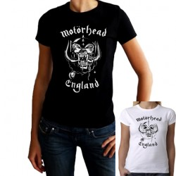 Women Motorhead T shirt