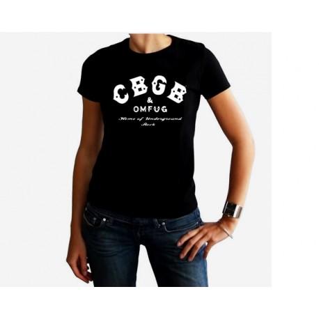 Camiseta mujer CBGB