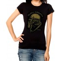 Camiseta mujer Iron man Black Sabbath