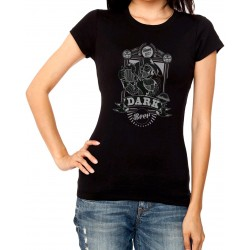 Women Dark beer T shirt