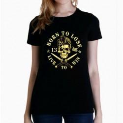 Camiseta mujer Born to loose