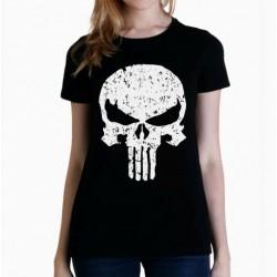 Camiseta mujer Punisher