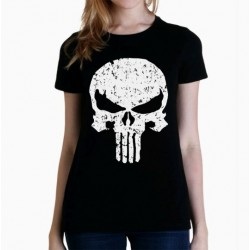 Women Punisher T shirt