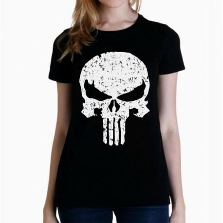 Women Punisher T shirt