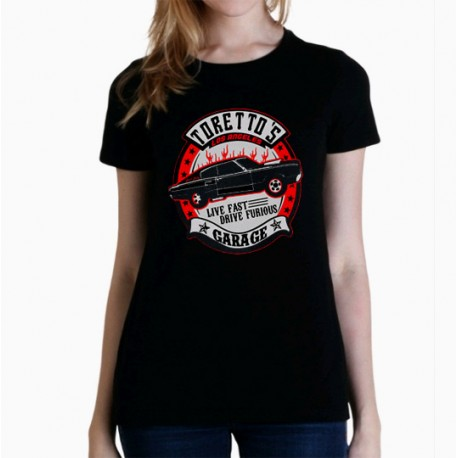 Camiseta mujer Fast and furious