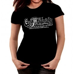 Camiseta mujer Gas Monkey Blood sweat and beers