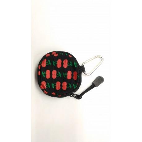 Cherry coin purse wallet