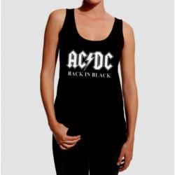 Camiseta tirantes AC/DC Back in black